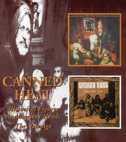 Canned Heat Historical Figures & Ancient H Import Gbr 2 On 1 Remastered