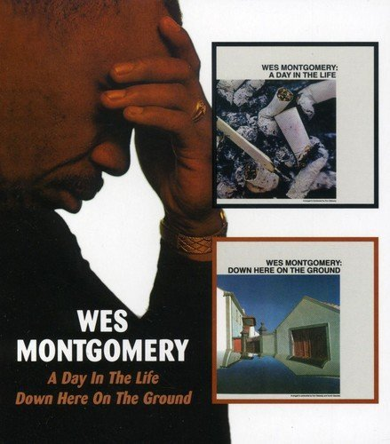 Wes Montgomery Day In The Life Down Here On T Import Gbr 2 On 1 Remastered