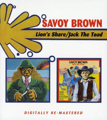 Savoy Brown Lions Share Jack The Toad Import Gbr 2 CD
