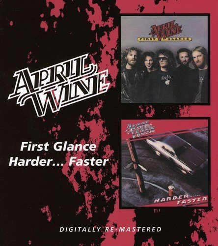 April Wine First Glance Harder..Faster Import Gbr 2 On 1