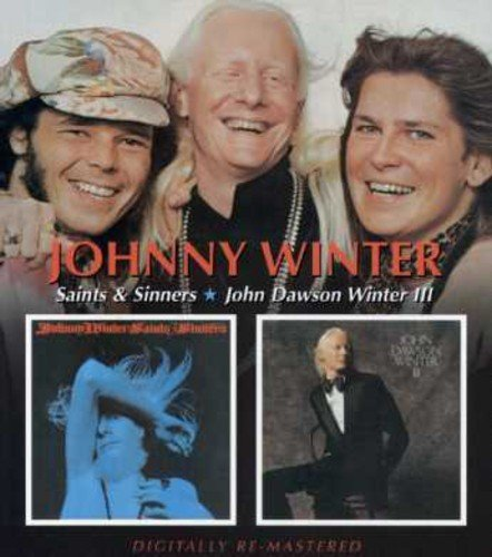 Johnny Winter Saints & Sinners John Dawson W Import Gbr 2 On 1