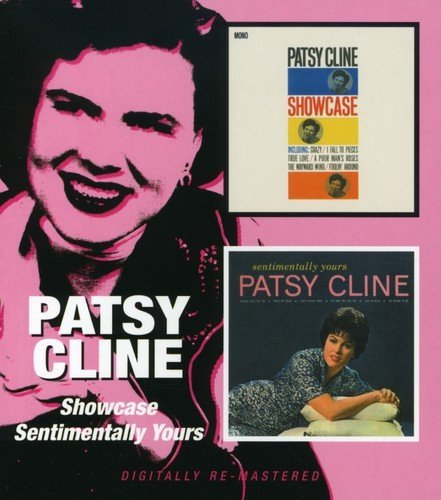 Patsy Cline Showcase Sentimentally Yours Import Gbr 2 On 1 Remastered