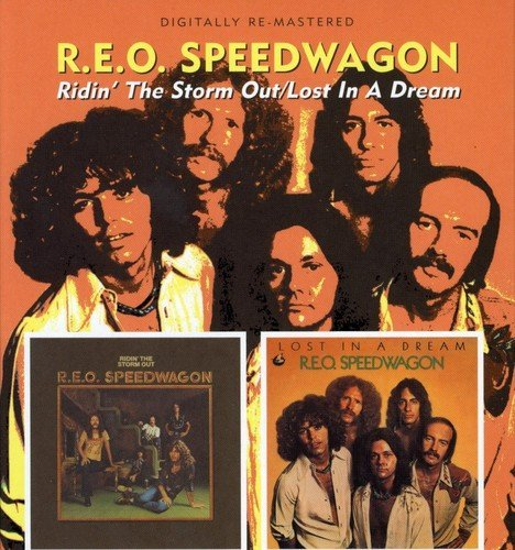 Reo Speedwagon Ridin' The Storm Out Lost In A Import Gbr Remastered 2 CD