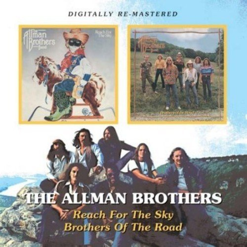 Allman Brothers Reach For The Sky Brothers Of Import Gbr 2 On 1 Remastered