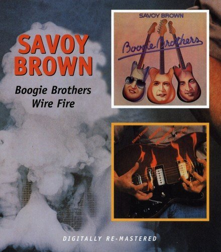 Savoy Brown Boogie Brothers Wire Fire Import Gbr 2 On 1
