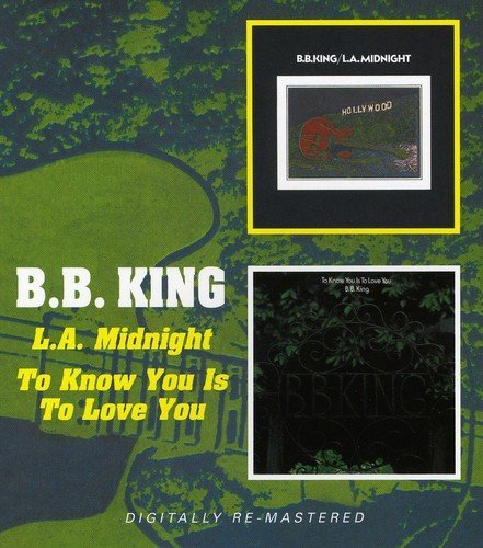 B.B. King To Know You Is To Love You L.A Import Gbr 2 CD