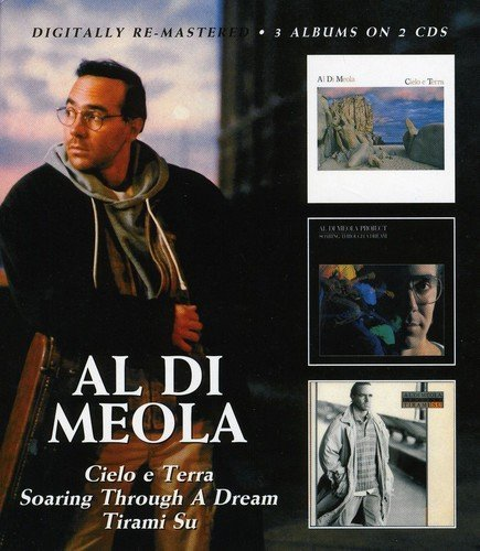 Al Di Meola Cielo E Terra Soaring Through Import Gbr 3 On 2 Remastered