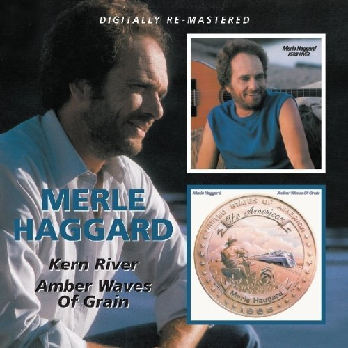 Merle Haggard Amber Waves Of Grain Kern Rive Import Gbr 2 On 1 Remeastered