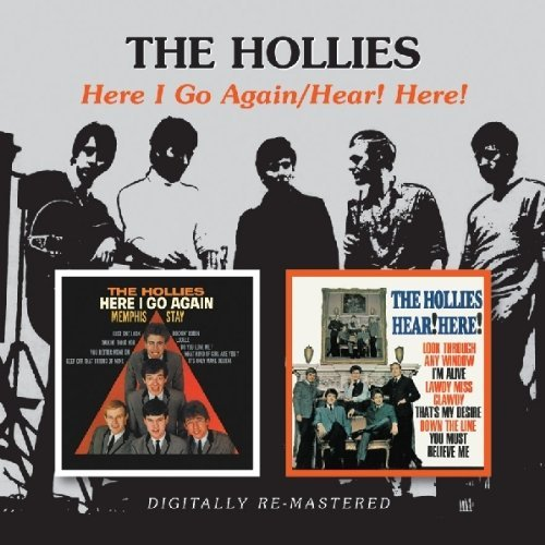 Hollies Here I Go Again Hear! Here! Import Gbr 2 On 1 Remastered