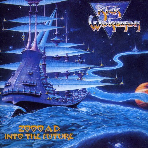 Rick Wakeman 2000 A.D. Into The Future Import Gbr