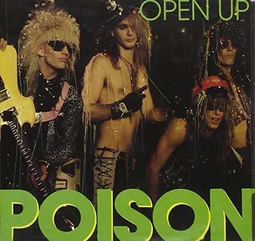 Poison Open Up Interview Picture Disc