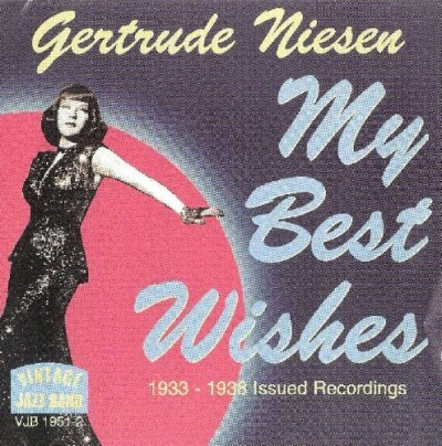 Gertrude Niesen My Best Wishes