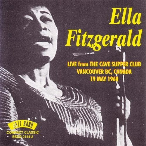Ella Fitzgerald 1968 Live From The Cave Supper Import Gbr