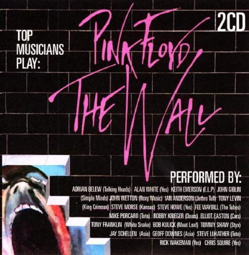 Pink Floyd (v A) Top Musicians Play The Wall Import Gbr Top Musicians Play The Wall
