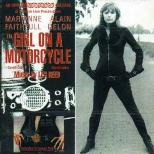 Les Reed Girl On A Motorcycle