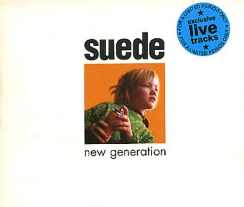Suede New Generation +3 Live Tracks Animal Nitrate Wi