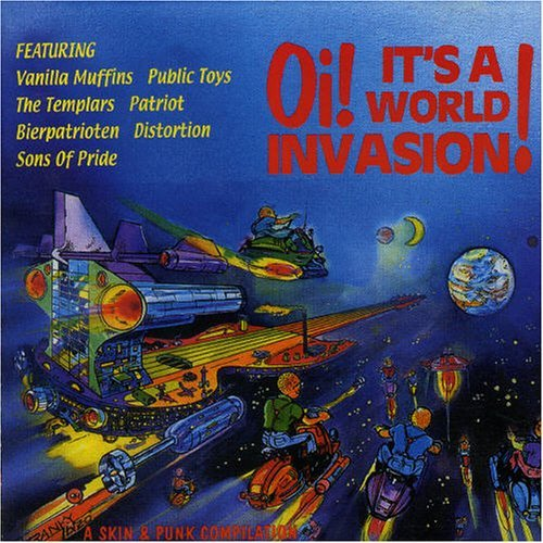 Oi! It's A World Invasion Vol. 1 Oi! It's A World Invasi Import Oi! It's A World Invasion