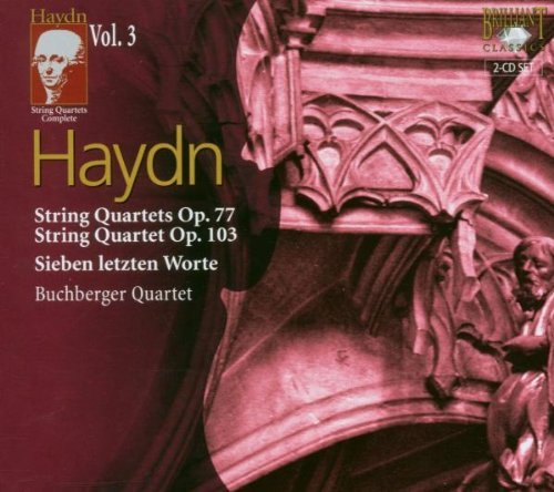 J. Haydn String Quartets Vol. 3 Buchberger Quartet