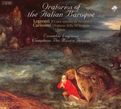 Legrenzi Ensemble & Compless Oratorios Of The Italian Baroq 2 CD