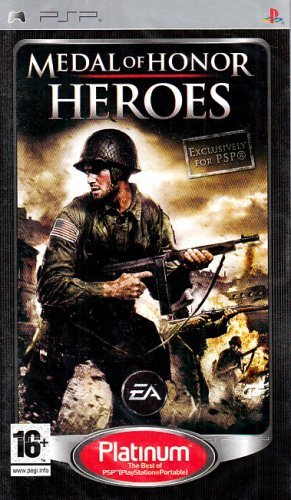 Psp Medal Of Honour Heroes (platinum) Import Uk