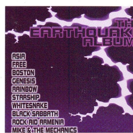 Rock Aid Armenia Earthquake Album