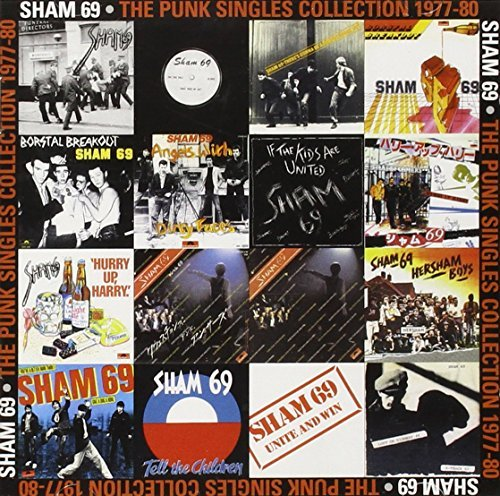 Sham 69 Punk Singles Collection 77 80 Import Gbr