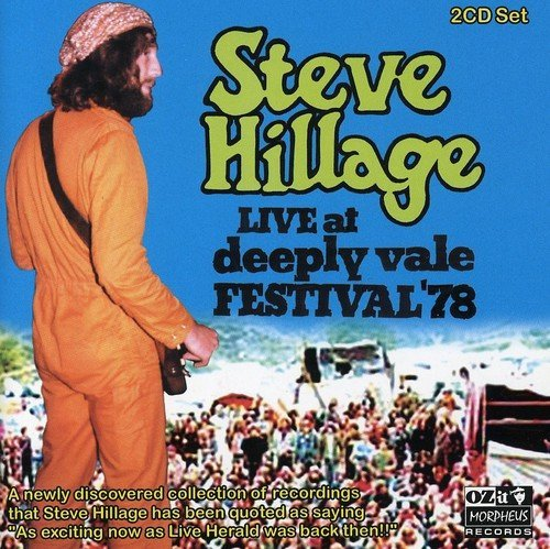 Steve Hillage Live At Deeply Vale 1978 Import Gbr 2 CD Set