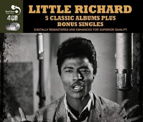 Little Richard Five Classic Albums Plus Import Gbr 4 CD