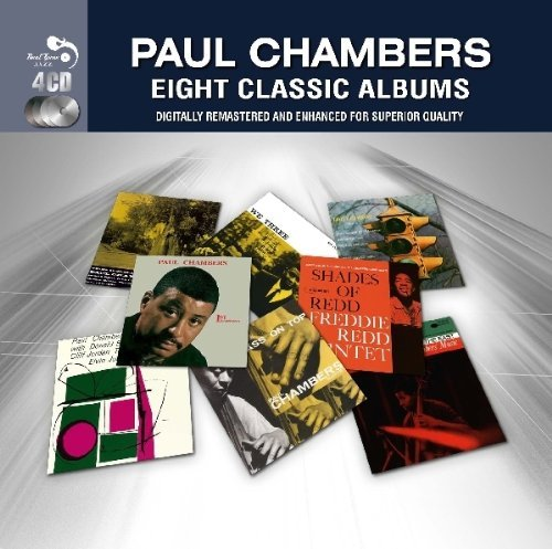 Paul Chambers Eight Classic Albums Import Gbr 4 CD