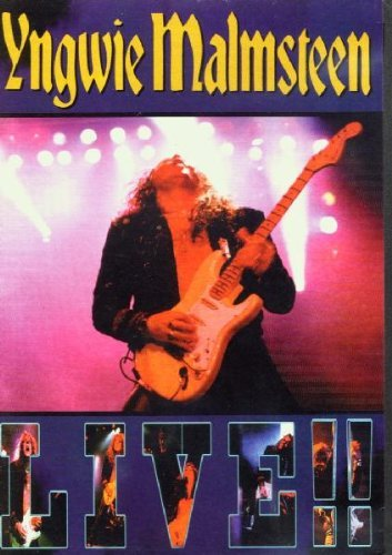 Yngwie Malmsteen Live!!! (pal Region 0) Import Gbr Pal (0)