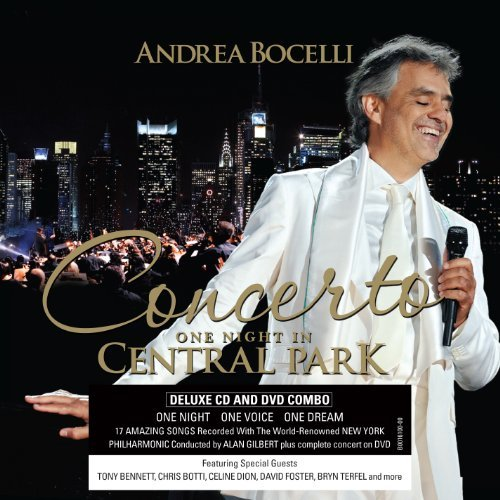 Andrea Bocelli Concerto One Night In Central Deluxe Ed. Incl. DVD Ntsc(0)