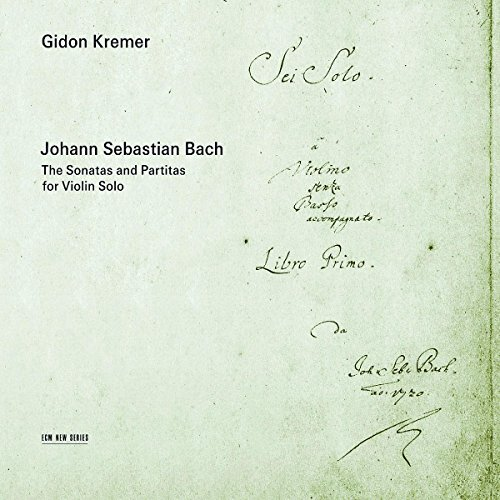 Gidon Kremer Sonatas & Partials For Vn Solo Kremer (vn) 2 CD