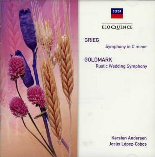 Grieg Goldmark Sym In C Rustic Wedding Sym Import Aus Lopez Cobos