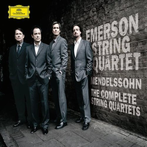 Emerson String Quartet Complete String Quartets Octet 4 CD Emerson Str Qt