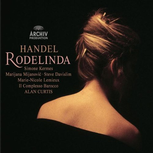 George Frideric Handel Rodelinda Comp Opera 3 CD Curtis Complesso Barocco