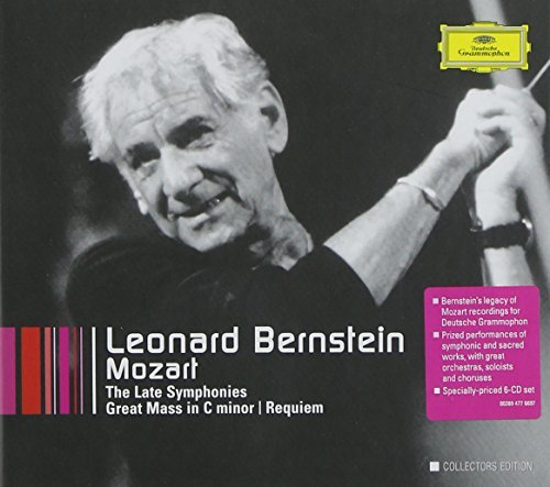 Leonard Bernstein Late Symphonies Great Mass Req