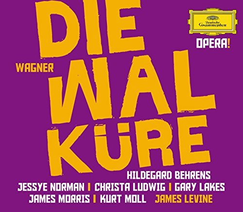 Richard Wagner Opera! Die Walkure Behrens Norman Morris Levine 4 CD