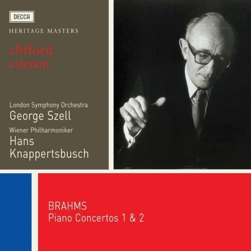 J. Brahms Cons Pno 1 2 Curzon*clifford 2 CD Set