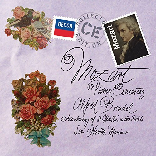 Wolfgang Amadeus Mozart Piano Concertos 12 CD Brendel Academy Of St. Martin