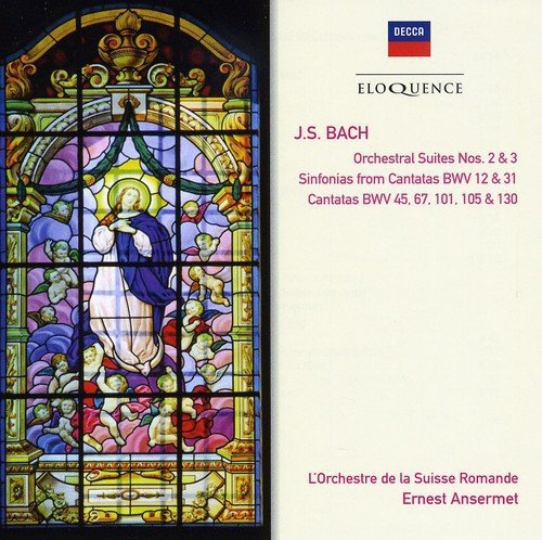 Ernest Ansermet Bach Orchestral & Cantatas Import Aus 2 CD