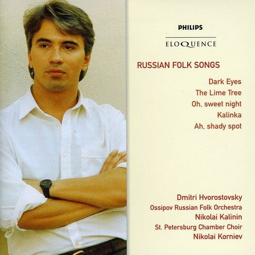 Dmitri Hvorostovsky Russian Folk Songs Import Aus 2 CD Set