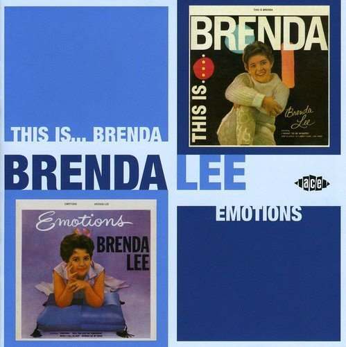 Brenda Lee This Is Brenda Emotions Import Gbr 2 On 1 Incl. Bonus Tracks