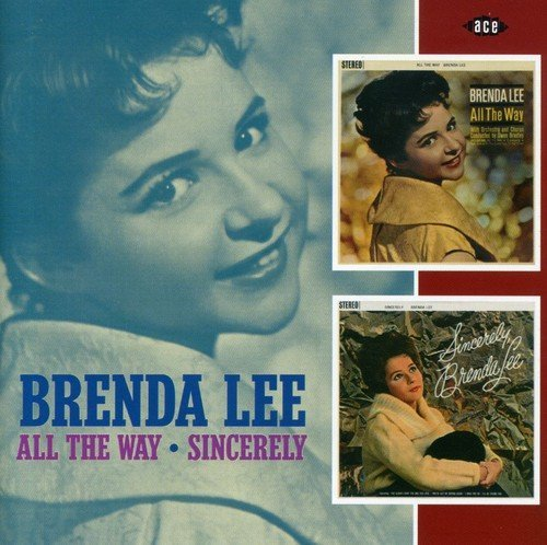 Brenda Lee All The Way Sincerely Import Gbr