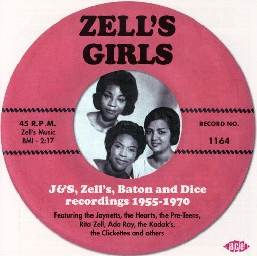 Zell's Girls Baton & Dice Reco Zell's Girls Baton & Dice Reco Import Gbr