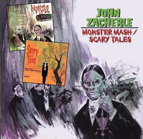 John Zacherle Monster Mash Scary Tales Import Gbr 2 On 1 Incl. Bonus Tracks