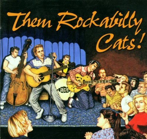 Them Rockabilly Cats Them Rockabilly Cats Import Gbr Labeef Riley Lonesome Drifter