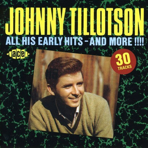 Johnny Tillotson All His Early Hits Import Gbr