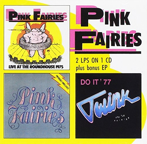 Pink Fairies Live At The Roundhouse Previou Import Gbr 2 On 1
