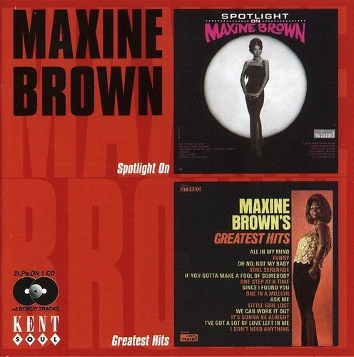 Maxine Brown Spotlight On Greatest Hits Import Gbr 2 On 1