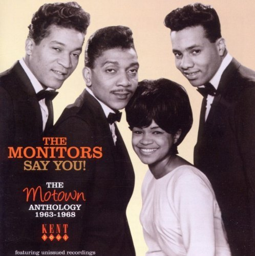 Monitors Say You! Motown Anthology 1963 Import Gbr